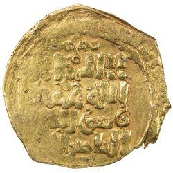 AMIR OF NISHAPUR: Toghanshah, 1172-1185 AH, AV dinar (2.24g), MM, AH5xx. VF