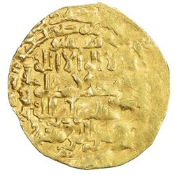 ZANGIDS OF AL-MAWSIL: Mahmud, 1219-1233, AV dinar (4.82g) (al-Mawsil), DM. F-VF