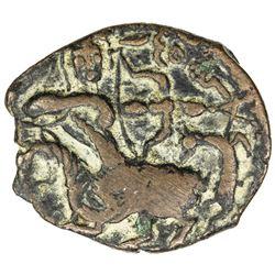 SALDUQIDS: Nasir al-Din Muhammad, 1168-1191, AE fals (5.13g), NM, AH575. VF