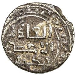 GREAT MONGOLS: Chingiz Khan, 1206-1227, AR dirham (2.96g), [Ghazna], ND. VF-EF