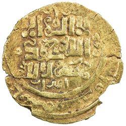 GREAT MONGOLS: Anonymous, ca. 1220s-1240s, AV dinar (3.19g), Otrar, ND. VF-EF