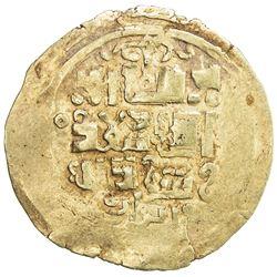 GREAT MONGOLS: Anonymous, ca. 1220s-1240s, AV dinar (3.20g), Otrar, ND. VF