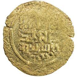 GREAT MONGOLS: Anonymous, ca. 1220s-1230s, AV dinar (4.44g), Bukhara, ND. EF