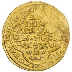 ILKHAN: Uljaytu, 1304-1316, AV dinar (11.91g), Wasit, AH710. EF