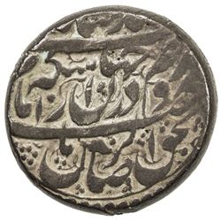 ZAND REBELS: Taqi Khan Bafqi, 1785-1787, AR rupi (11.30g), Yazd, ND. F-VF