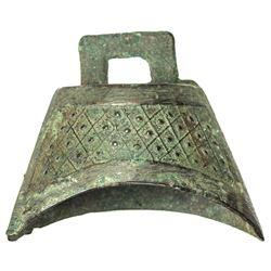 ZHOU: Spring-Autumn Period, 770-476 BC, AE bell (31.16g). VF-EF