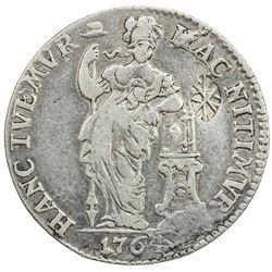 SUMENEP: Sultan Paku Nata Ningrat, 1811-1854, AR gulden (10.25g). EF
