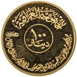 IRAQ: Republic, AV 100 dinars, 1982/AH1402. PF