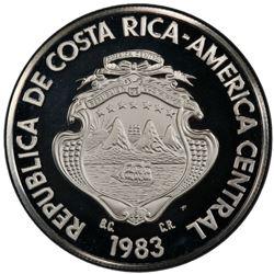 COSTA RICA: Republic, AR 250 colones, 1983. PCGS PF68