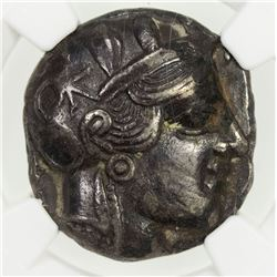 ATHENS (ATTICA): 440-404 BC, fourree tetradrachm (15.11g). NGC EF