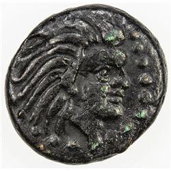 PANTIKAPAION: AE13 (1.75g), ca 310-303 BC. VF-EF