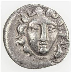 RHODES: AR drachm (2.26g), 205-188 BC. F-VF