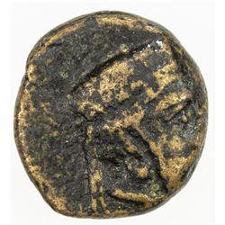 SIDON: 'Abd'ashtart I, 372-358 BC, AE9 (0.99g). VF