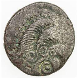 GAUL: Armorican Coriosolites, BI stater (6.23g), ca 1st century BC. VF
