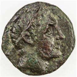 CHERRONESOS: Xenokles, magistrate, AE14 (1.79g), late 3rd century BC. F-VF