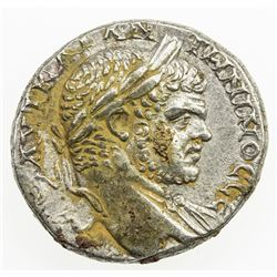 ROMAN EMPIRE: Caracalla, 198-217 AD, AR tetradrachm (13.13g), Heliopolis. VF-EF