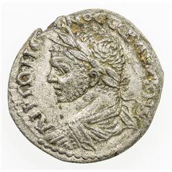 ROMAN EMPIRE: Caracalla, 198-217 AD, AR tetradrachm (10.53g), Beroea. VF