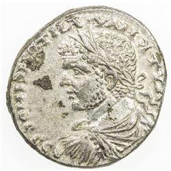 ROMAN EMPIRE: Caracalla, 198-217 AD, AR tetradrachm (13.44g), Beroea. VF