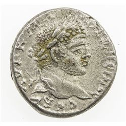 ROMAN EMPIRE: Caracalla, 198-217 AD, AR tetradrachm (14.33g), Antioch. VF