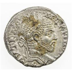 ROMAN EMPIRE: Macrinus, 217-218 AD, AR tetradrachm (15.65g), Carrhae. VF-EF