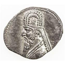 PARTHIAN KINGDOM: Mithradates II, c. 123-88 BC, AR drachm (4.00g). EF