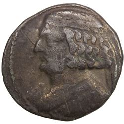 PARTHIAN KINGDOM: Orodes II, c. 57-38 BC, AR tetradrachm (13.55g), Seleukaia on the Tigris. F-VF