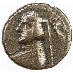 PARTHIAN KINGDOM: Orodes II, c. 57-38 BC, AE pashiz (3.39g). VF