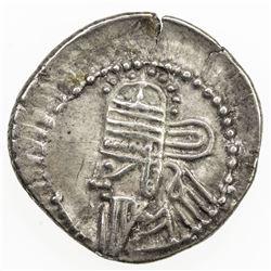 PARTHIAN KINGDOM: Osroes II, ca 190-208 AD, AR drachm (3.65g), Ecbatana mint. VF-EF