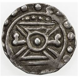 SRIKSHETRA: AR 1/4 unit (2.51g), late 8th to early 9th century. EF