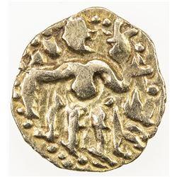 CEYLON (MEDIEVAL): Anonymous, ca. 990-1070, AV aka (1/8 kahavanu) (0.55g). EF