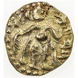 CEYLON (MEDIEVAL): Anonymous, ca. 990-1070, AV aka (1/8 kahavanu) (0.48g). EF
