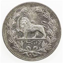 IRAN: Muzaffar al-Din Shah, 1896-1907, AR 5000 dinars, AH1320. EF
