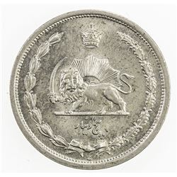 IRAN: Reza Shah, 1925-1941, 5 dinars, SH1310. UNC