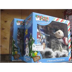 2PC REINDEER IN HERE BOOK AND PLUSH GIFT SET