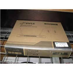 PYLE WIRELESS MICROPHONE SERIES