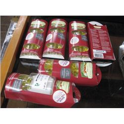 6PC YANKEE CANDLE CHRISTMAS COOKIE OIL PACKS