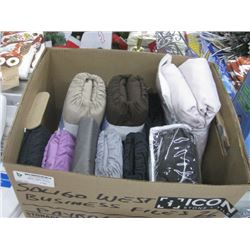 BOX OF ASSORTED LINEN