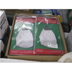 CASE OF CHRISTMAS TREE REMOVAL BAGS