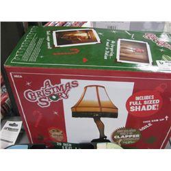 A CHRISTMAS STORY LEG LAMP PROP REPLICA