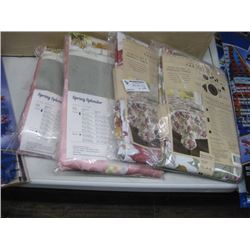 4PC ASSORTED TABLE CLOTHS