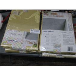 4PC TABLE CLOTHS