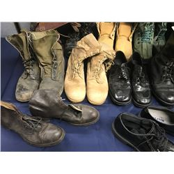 Lot 567 - Military Boot and Footware Lot