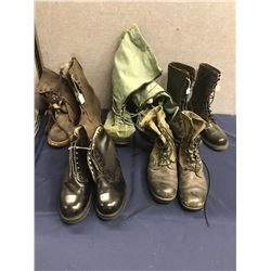 Lot 568 - Military Boot and Footware Lot