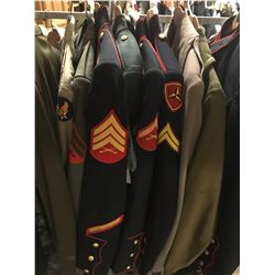 Lot 576 - Military Multi Uniform Lot