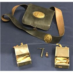 Lot 588 - Military Civil War Ammo Pouch