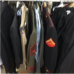 Lot 590 - Military Multi Uniform Lot