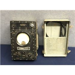 Lot 594 - Military Multimeter Multiplyer Kit