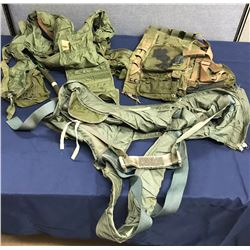 Lot 596 - 3 pc Military Harness Lot