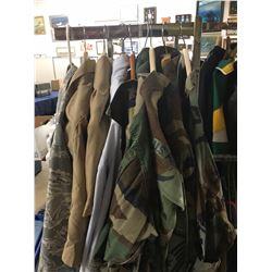 Lot 598 - Military Multi Uniform Lot
