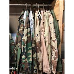 Lot 600 - Military Multi Uniform Lot